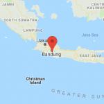 Map of Java Riung Gunung Estate